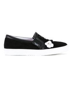 Boutique Moschino | Applique Trainers Womens Size 40 Leather