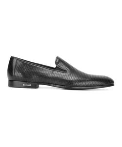 Baldinini | Perforated Slippers Mens Size 42 Calf Leather/Leather