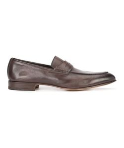 Santoni | Dirk Penny Loafers Mens Size 8.5 Leather