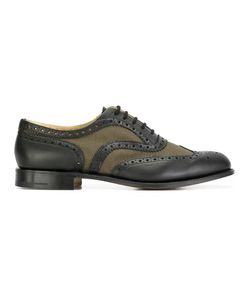 Church's | Classic Brogues Mens Size 8.5 Cotton/Calf Leather/Leather/Leather