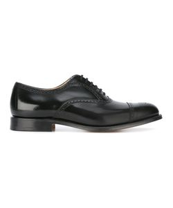 Church's | Brogue Oxford Shoes Mens Size 9.5 Calf Leather/Leather