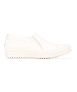 Rick Owens   Slip-On Trainers Womens Size 36.5 Leather/Rubber