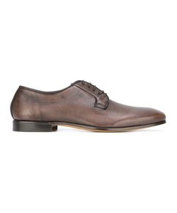 FABI | Grained Derbies Mens Size 45 Calf Leather/Leather