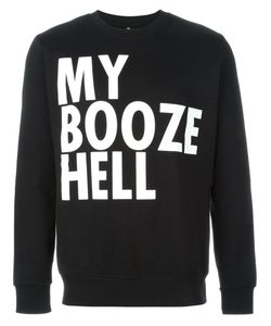 House Of Voltaire   Jeremy Deller My Booze Hell Sweatshirt