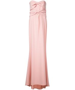 Boutique Moschino | Long Evening Dress Womens Size 42 Polyester/Triacetate