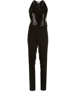Mugler | Sequinned Jumpsuit Womens Size 36 Polyester/Polyamide/Sequin