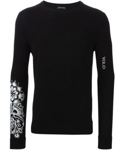 Exemplaire | Sleeve Intarsia Knit Sweater