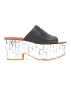 See by Chloé | Mirro Platform Mules Womens Size 36 Leather/Rubber