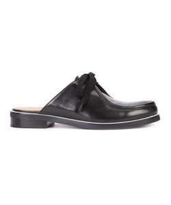 Derek Lam | Backless Lace-Up Shoes Womens Size 41 Nappa Leather