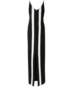 Osklen | Striped Maxi Dress Womens Size P Polyester