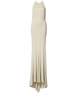 Alexandre Vauthier | Open Back Fitted Gown Womens Size 38 Viscose/Spandex/Elastane