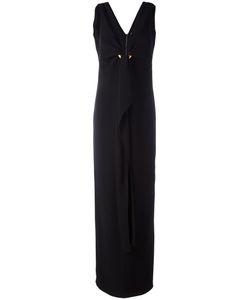 Tom Ford | Circle Buckle Dress Womens Size 40 Silk