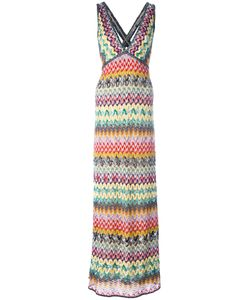 Missoni | Tweed Long Dress Womens Size 40 Viscose/Rayon/Polyester/Silk