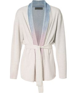 The Elder Statesman | Rainbow Gradient Belted Cardigan Adult Unisex Size Medium