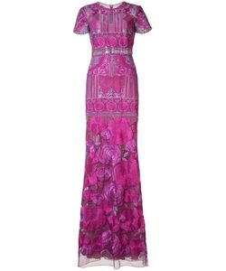 Marchesa Notte | Print Maxi Dress Womens Size 6 Nylon