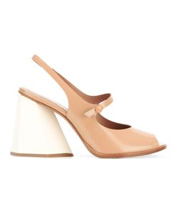 Sportmax | Ankle Length Sandals Size 40 Leather/Rubber