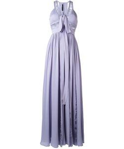 Elie Saab | Fla Evening Dress Womens Size 38 Silk/Nylon/Polyamide/Silk