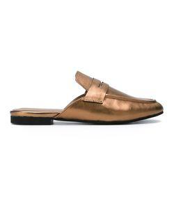 Essentiel Antwerp   Nobs Mules Womens Size 36 Leather/Rubber