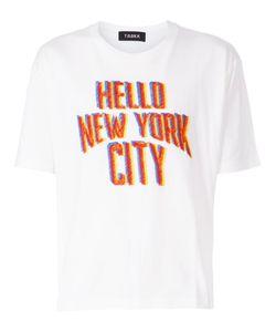 Taakk | Hello Ny City Print T-Shirt
