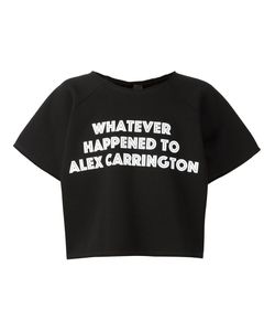 Bernhard Willhelm | Cropped Slogan T-Shirt