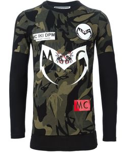 Sam Mc London | Camouflage Print T-Shirt