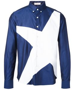 Education From Youngmachines | Star Print Shirt Mens Size 3 Cotton
