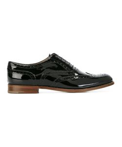Church's | Lace Up Brogues Womens Size 39 Calf Leather/Patent Leather/Leather