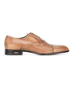 Baldinini   Logo Plaque Detail Oxfords Mens Size 43.5 Calf Leather/Leather