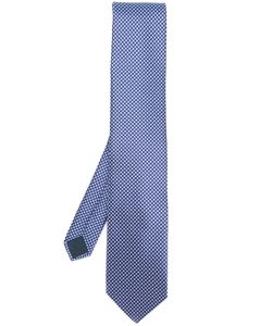 Lanvin | Diamond Pattern Tie Mens Silk