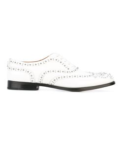 Church's | Studded Brogue Oxfords Womens Size 36.5 Calf Leather/Leather
