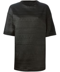 Victoria/Tomas | Textured Boxy Top