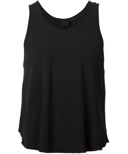 Tvscia | Raw Seam Flared Tank Top