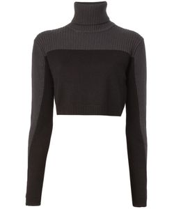 Lutz Huelle | Cropped Panelled Sweater