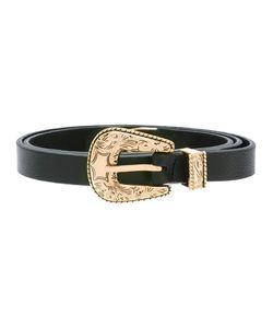 B-Low the Belt | Buckled Belt Womens Size Medium Leather