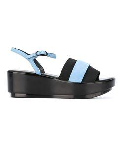 Robert Clergerie | Poddy Sandals Womens Size 39.5 Goat Skin/Leather/Elastodiene/Rubber