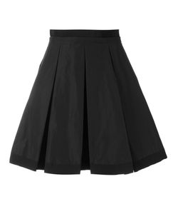 Moncler | Pleated Fla Skirt Womens Size 44 Cotton/Polyester