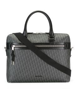 Dior Homme   Logo Pattern Briefcase Cotton/Polyurethane