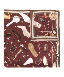 Bally | Multi-Print Scarf Womens Silk