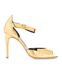 Rupert Sanderson   Ankle Strap Sandals Womens Size 38.5 Leather
