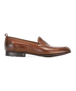 Silvano Sassetti   Classic Penny Loafers Mens Size 7.5 Leather