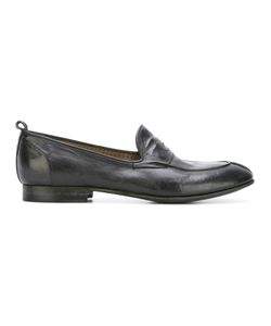 Silvano Sassetti   Classic Penny Loafers Mens Size 8 Leather