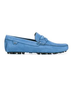 Dolce & Gabbana | Textu Loafers Mens Size 40 Calf Leather/Rubber/Leather