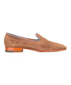 Santoni | Classic Loafers Mens Size 8 Leather/Suede