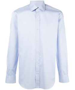 Barba | Plain Shirt Mens Size 40 Cotton