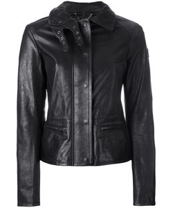 Belstaff | Jacket With Quilted Collar And Biker Detail Womens Size 40