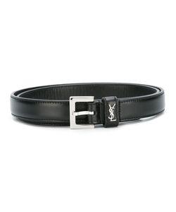 Saint Laurent | Monogram Belt Womens Size 80 Leather