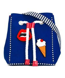 Yazbukey | Multi Patched Shoulder Bag Womens Canvas