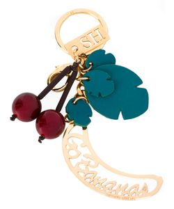 Sophie Hulme | Cherries Keychain Womens Leather/Brass/Plastic