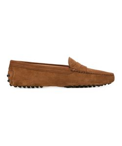 Tod's | Gommini Penny Loafers Womens Size 35.5 Calf Suede/Leather/Rubber