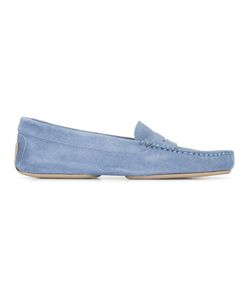 Pretty Loafers   Classic Loafers Womens Size 38 Leather/Suede/Rubber